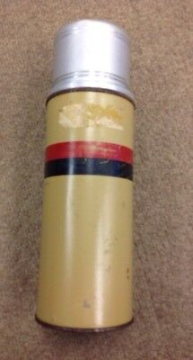 Vintage American Thermos Bottle Co B34 Metal With Glass Insert