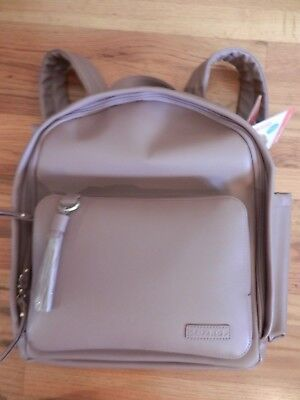 Pottery Barn Skip Hop Greenwich Simply Chic Baby Diaper Bag Backpack Dusty Rose