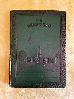 Baltimore City College, Maryland 1936 Green Bag Annual Year Book~No Autographs