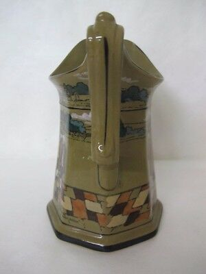 Magnificent 1909 Buffalo Pottery Deldare Water Pitcher