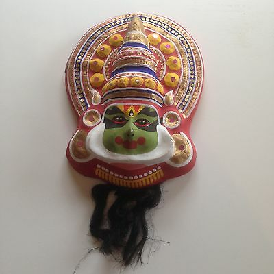 Vintage/Antique - Decorative Multi Coloured Chinese Wall Mask