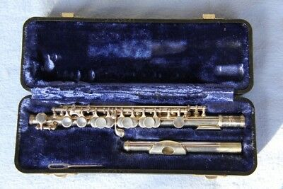 Armstrong piccolo, excellent condition, plated