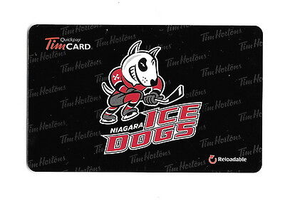 OHL Niagara IceDogs 2014 Tim Hortons Gift Card $0 Value FD42341