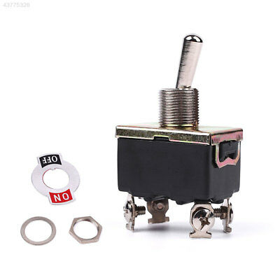 D12B Mini AC 125V/20A ON/OFF/ON 3 Position 4 Pin DPDT Momentary Toggle Switch