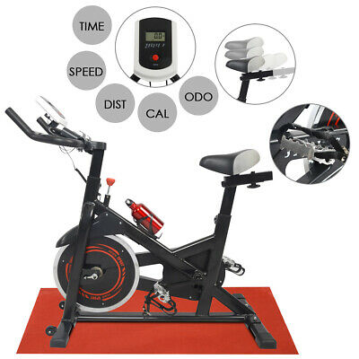 Stationary Bike Exercise Spinning Bicycle Fitness Cardio Cycling Training Gym