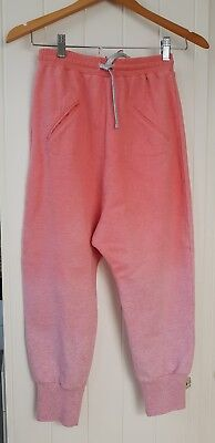 BNWT Paper Wings Girl's Size 12 Pink Marle Slouch Trackie
