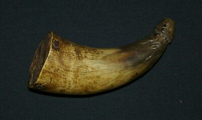 Nice 18Th To Early 19Th Century Priming Horn Priced To Sell Buy Now