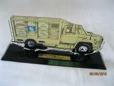 "1996 Schwan's Delivery Truck Employees Edition Plaque ""Back To School Bonanza"""