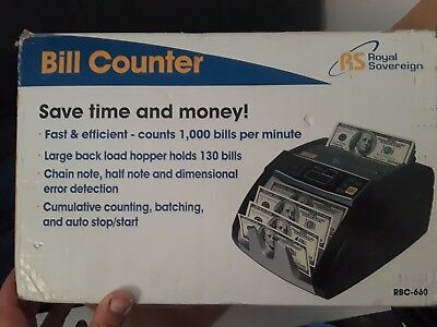 Bill Counter Rs 660