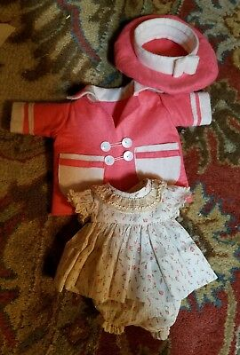 "Outfit for 14"" vintage  composition Patsy doll or similar"