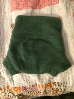 Knit wool diaper cover