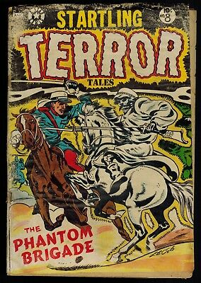 Startling Terror Tales 8: LB Cole Cover