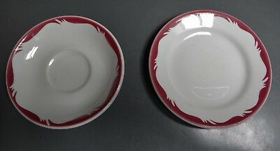Victorian Railways ..  Refreshment Services  Small Plate And Saucer