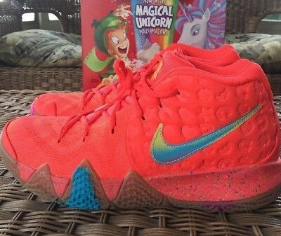 b2668ec72c92 NIKE KYRIE IRVING 4 Cereal Lucky Charms BV0428-600 GS YOUTH Size 6Y ...