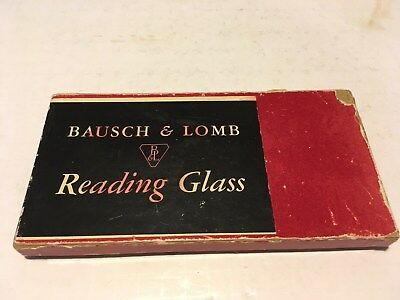 Vintage Bausch & Lomb Butterscotch Magnifying Glass Issues