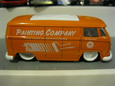 JADA TOYS 62 Volkswagen Bus RARE Painting Co  from Service 4 Car Set 1/64  VHTF