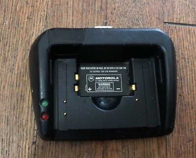 Motorola Timeport / Pagewriter 2000X Battery Charger Cradle Mkln4525A