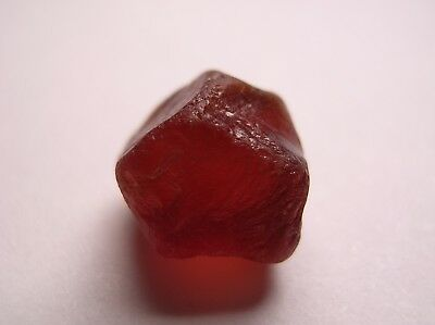 Garnet / Grossular Hessonite, Rich Orange Facet Rough, Madagascar