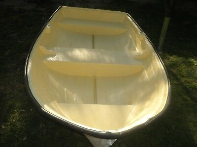 Dinghy Fiberglass, Boat, Tender. dingy...  Length 225cm  good condition.