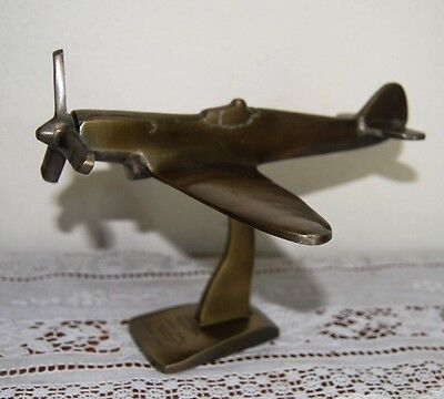 Collectable Australian Spitfire Diecast Model Airplane Raaf Laverton..
