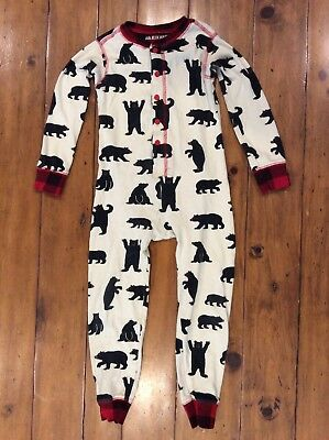 Little Blue House Toddler Pajamas Kid Red Bear Bum 2T Youth 2 Romper One Piece