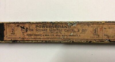 Vintage tools hollow mortise