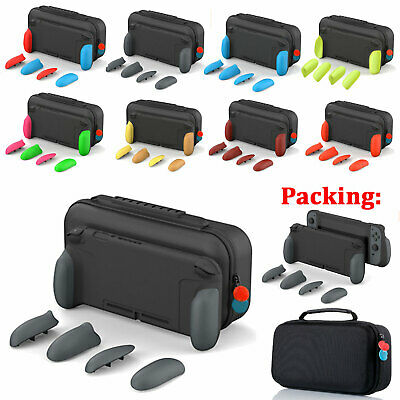Ergonomic Grip Protective Shell Maxcarry Storage Case Cover Bag for NS Switch