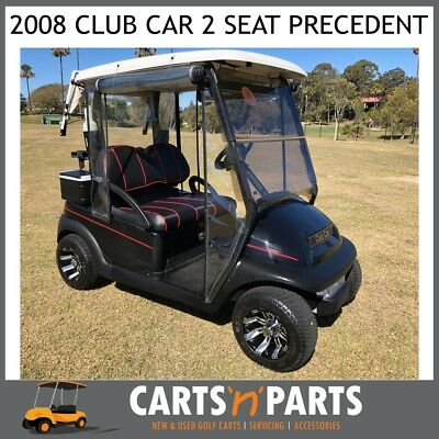 2008 Club Car Precedent Golf Cart Buggy CUSTOM Seats Custome Mags Ful serviced L