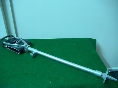 Walking Adjustable With Leather Seat Stick 72 To 110 Cm High
