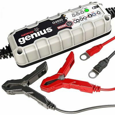 Noco Genius Motorcycle Battery Charger G3500 Uk 6/12V 3.5A Lithium Compatible