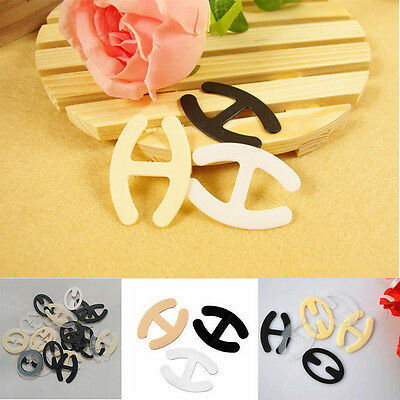 Colorful Underwear Accessories Invisible Bra Buckle H-shaped Hot 10pcs Buckle