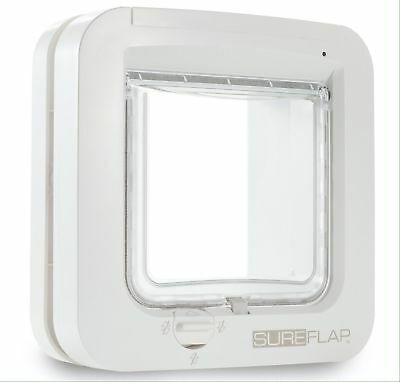 GENUINE SureFlap Microchip Cat Flap White - Posted Today if Paid Before 3pm