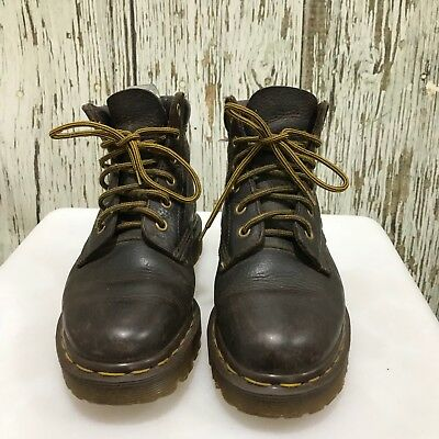 DR MARTENS Brown Vintage Leather Retro Chukka Boots Womens Size UK 4 21226
