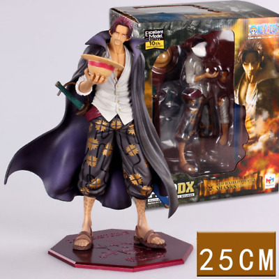 One Piece RED HAIRED PIRATES SHANKS Anime Manga Figuren H:25cm Neu Figur Ruffy