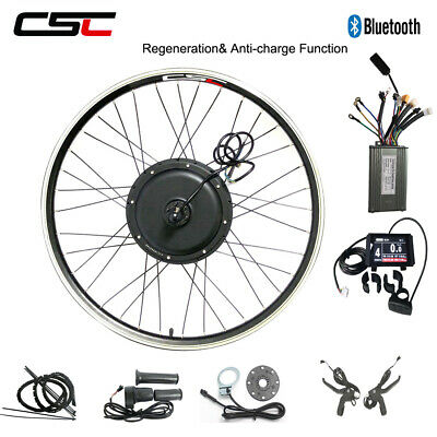 Electric Rear Bike Conversion Motor Kit 250W 500W 1000W 1500W Regeneration Ebike