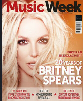 UK MUSIC WEEK Magazine August 2018: BRITNEY SPEARS COVER STORY SPECIAL