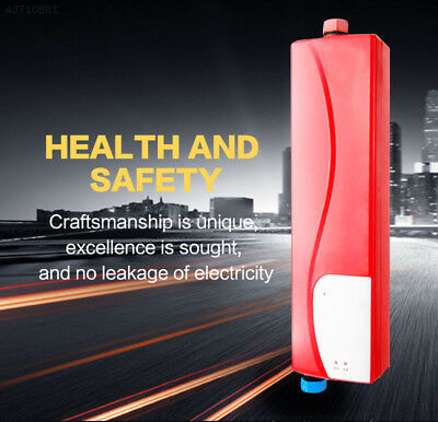 Instant Instant Electric Heating Hot Indoor Mini EU Electric Water Heater