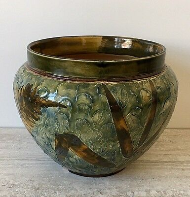 Royal Doulton Natural Foliage Ware Jardinière - Medium - Circa 1905