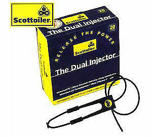 Scottoiler Dual Injector System Kit for use with V System E System & Mk 7 Range