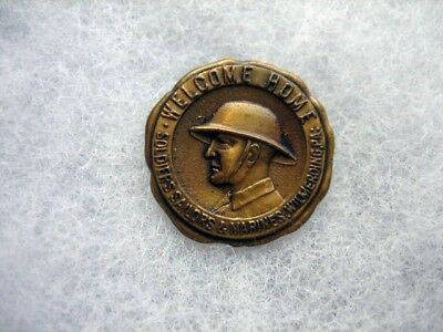 WWI Welcome Home Pin Wilmerding, PA