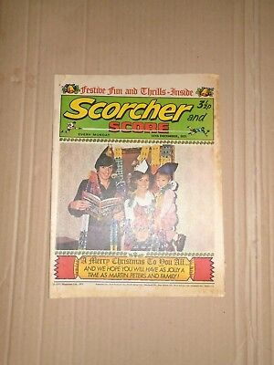 Scorcher and Score dated December 25 1971 Christmas issue