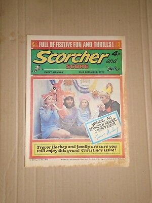 Scorcher and Score dated December 23 1972 Christmas issue