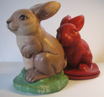 Z7133 Sitting Rabbit - Rubber Latex Moulds by MouldMaster