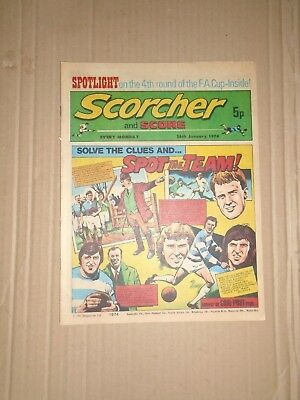 Scorcher and Score dated January 26 1974