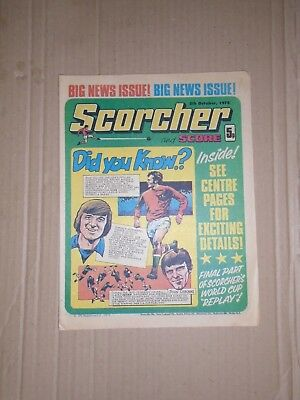 Scorcher and Score dated October 5 1974