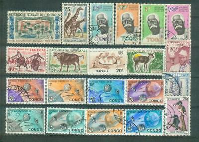 Lot Briefmarken aus Afrika