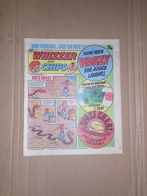 Whizzer and Chips issue dated April 29 1978