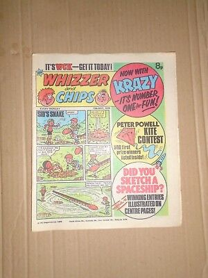 Whizzer and Chips issue dated May 13 1978
