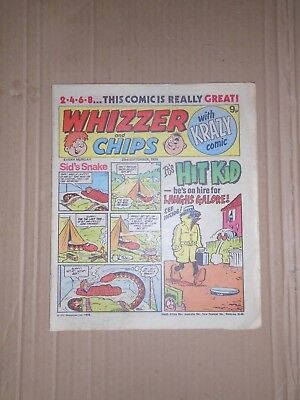 Whizzer and Chips issue dated September 23 1978