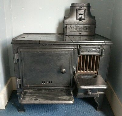 Antique, Vintage, Cast Iron, Victorian, Range/Stove/cooker (W N Froy & sons ltd)